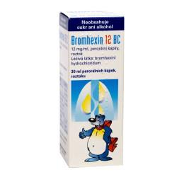Bromhexin 12 BC kapky 30 ml